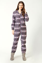 stripe and hearts onesie