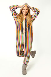 striped onesies for men women and kids