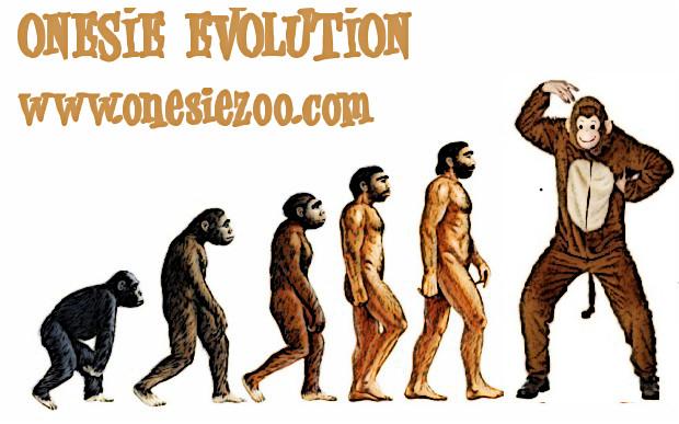 Onesie Evolution Funny Graphic