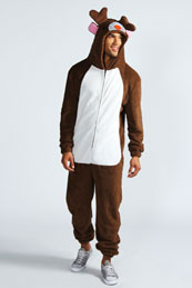 reindeer onesies for adults