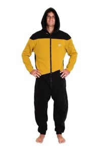 Officer Star Trek Onesie